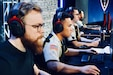 Members of the Army eSports team compete in various tournaments across the country.  The Army eSports Team started in 2018 to help the Army find new ways to connect with qualified individuals who may not be aware of career opportunities in the military.