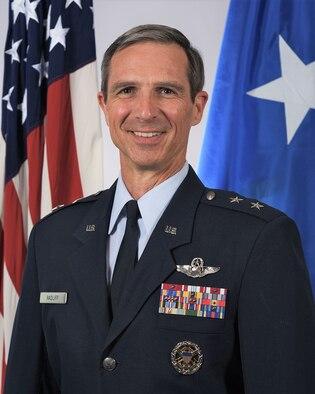 This is the official portrait of Maj. Gen. Bryan P. Radliff.