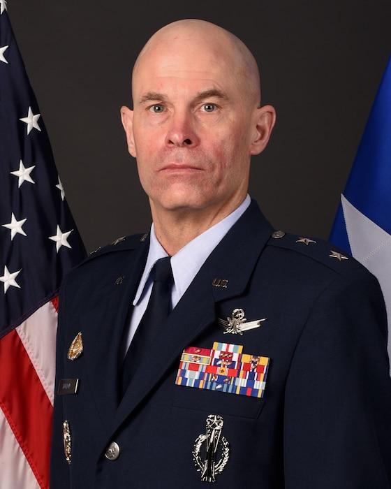 This is the official portrait of Maj. Gen. Michael Lutton.