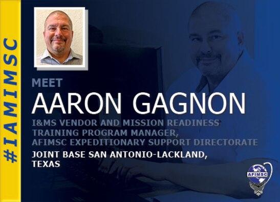 IAMIMSC spotlight graphic for Aaron Gagnon