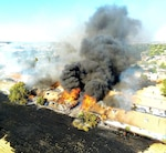 DLA San Joaquin Firefighters assist in saving homes