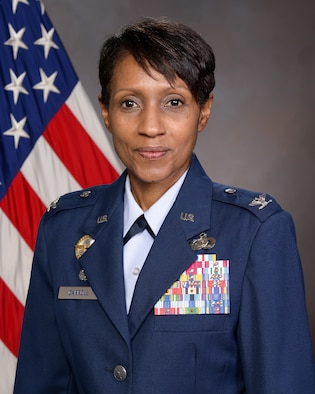 Col. Jenise Carroll, Commander, 75th Air Base Wing