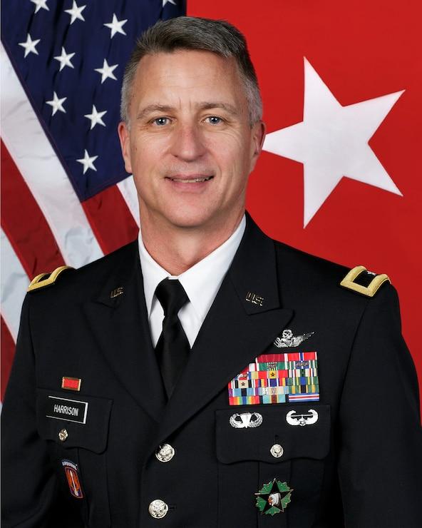 Brig. Gen. Jon Harrison, Director of Joint Staff
