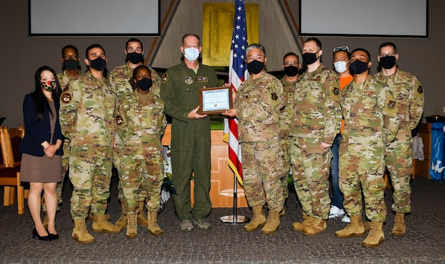 Misawa Chapel Team wins best in Air Force