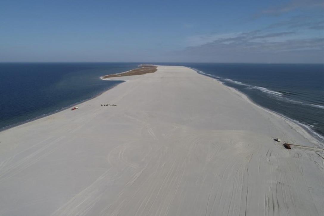 Aerial Photo of Ship Island 1