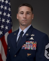 Chief Master Sgt. Paul B. Barbee is the 104th Fighter Wing command chief.