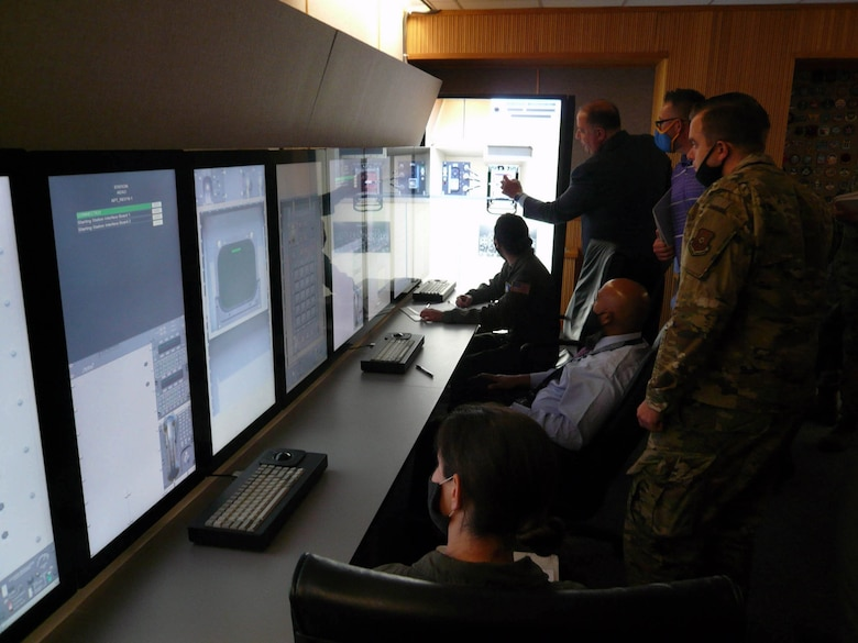 625th STOS receives new virtual Air Launch Control System trainer