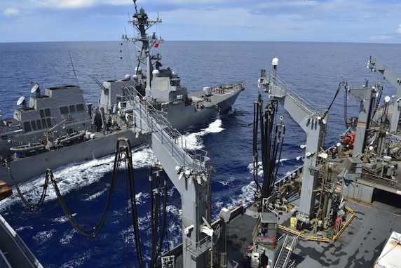 Logistics Team Keeps 7th Fleet Armed, Fueled, Fed in Indo-Pacific