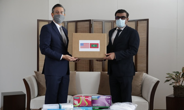 United States Donates Equipment for Maldives' Frontline Responders to COVID-19