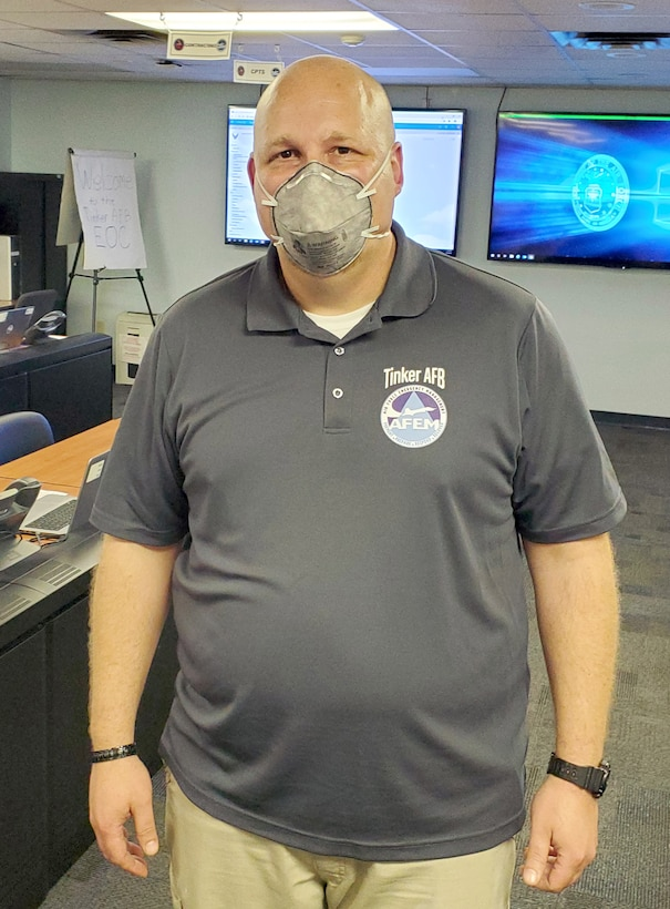 Frankie Knobloch has been an emergency management specialist in the Emergency Operations Center for four months.