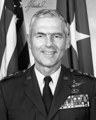 This is the official portrait of Lt. Gen. Charles G. Cleveland.