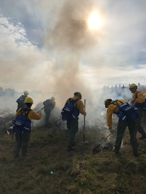 Airmen train to fight fires