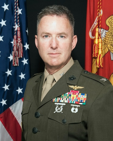 U.S. Marine Corps Forces Command Chief of Staff.