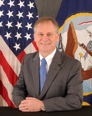 Official photo for John R. Jones, Executive Director, Naval Education and Training Command