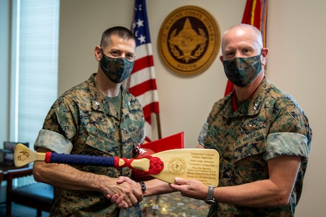 MARFORSOUTH awarded LtCol James Argentina the Meritorious Service Medal as his tour in Miami comes to an end. We thank you for your dedication and selfless service to MARFORSOUTH and the Marine Corps.