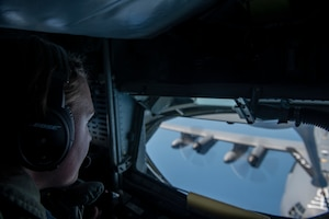 Team Mildenhall aircraft support training over Black Sea