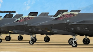 Hill AFB fighter wings conduct training sorties