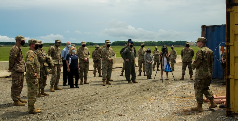 Team Dover held a ribbon-cutting ceremony for the Tactics and Leadership Nexus, a first-of-its-kind permanent integrated combat and leadership training facility on base, July 24, 2020.