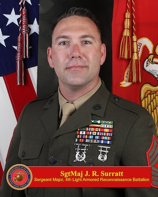 Sergeant Major, 4th Light Armored Reconnaissance Battalion
