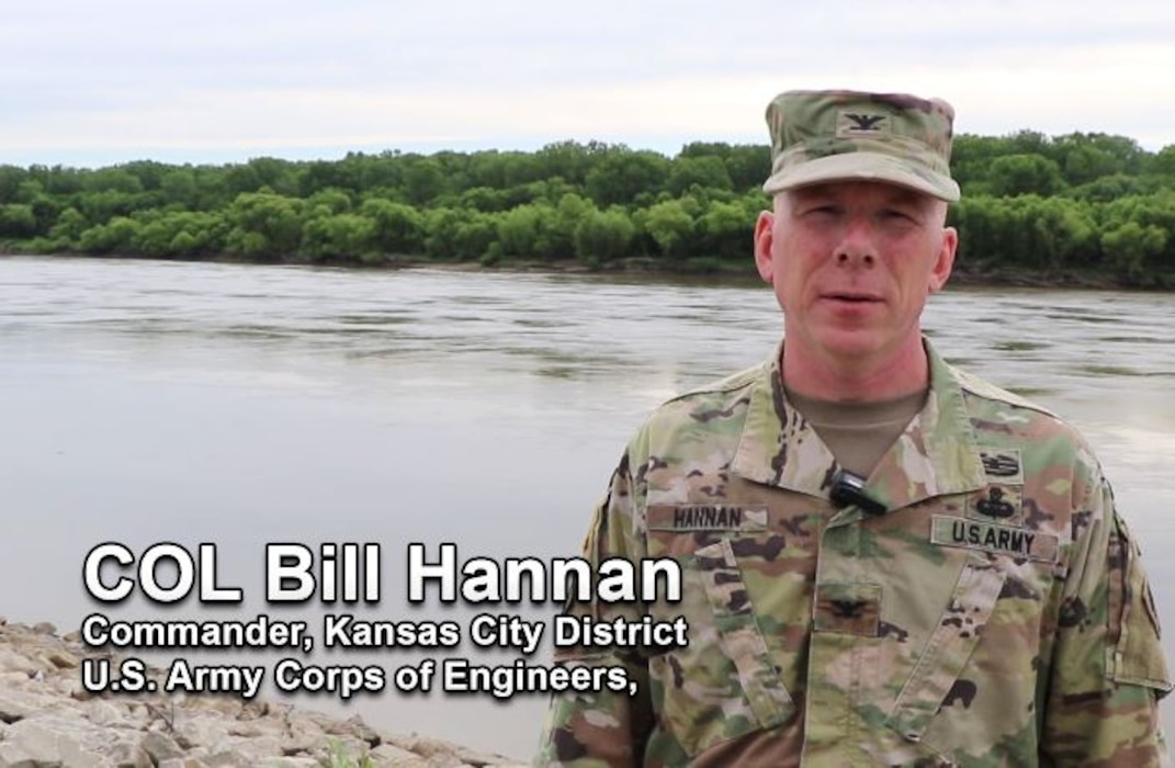 Col. Bill Hannan, Kansas City District Commander, talks how the U.S. Army Corps of Engineers is working with state and local partners to develop a long-term system plan for the Lower Missouri River Basin with regards to flood risk. Look for upcoming events and opportunities to provide input led by our partners.