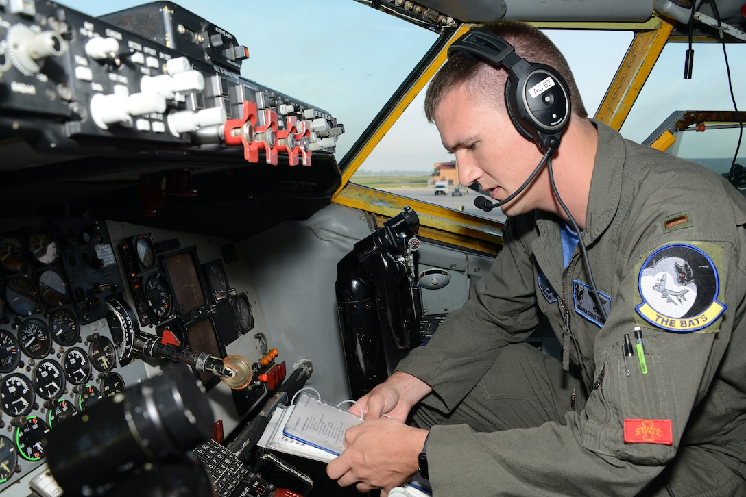 2nd Lt. Braden Christensen from Sergeant Bluff is a KC-135 pilot with the 185th Air Refueling Wing, Iowa Air National Guard.  Christensen is just beginning his career as a KC-135 pilot with the 185th.