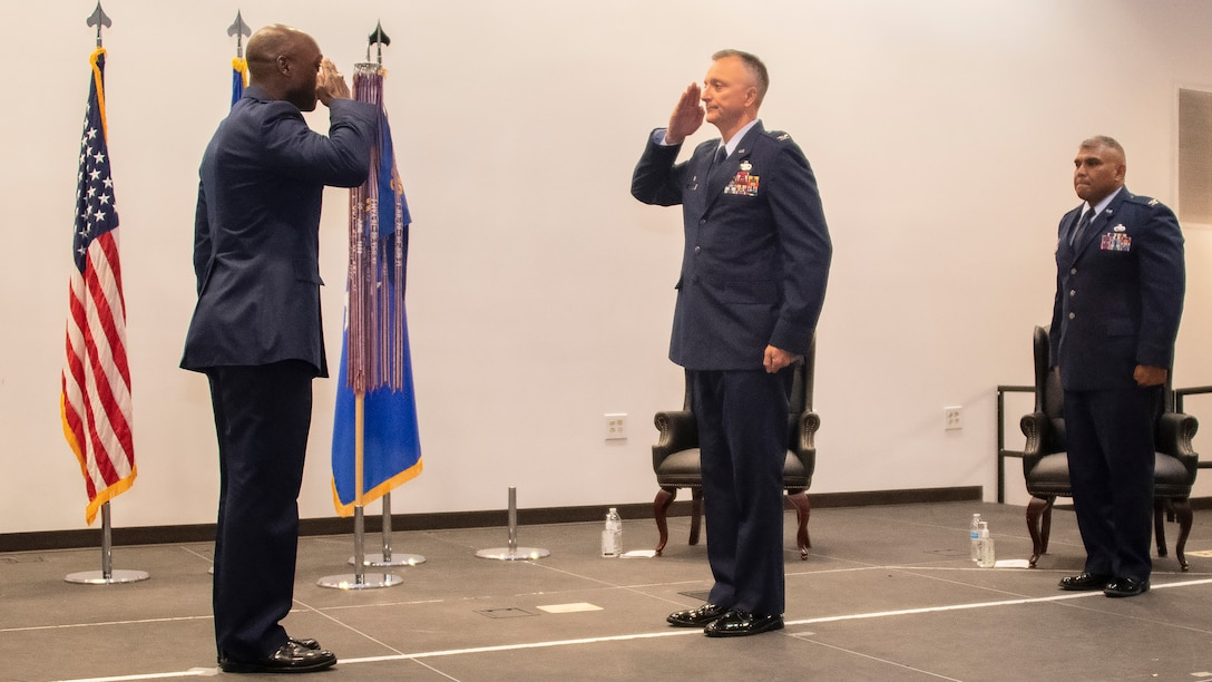 Col. Terry Koester takes command of 982nd TRG