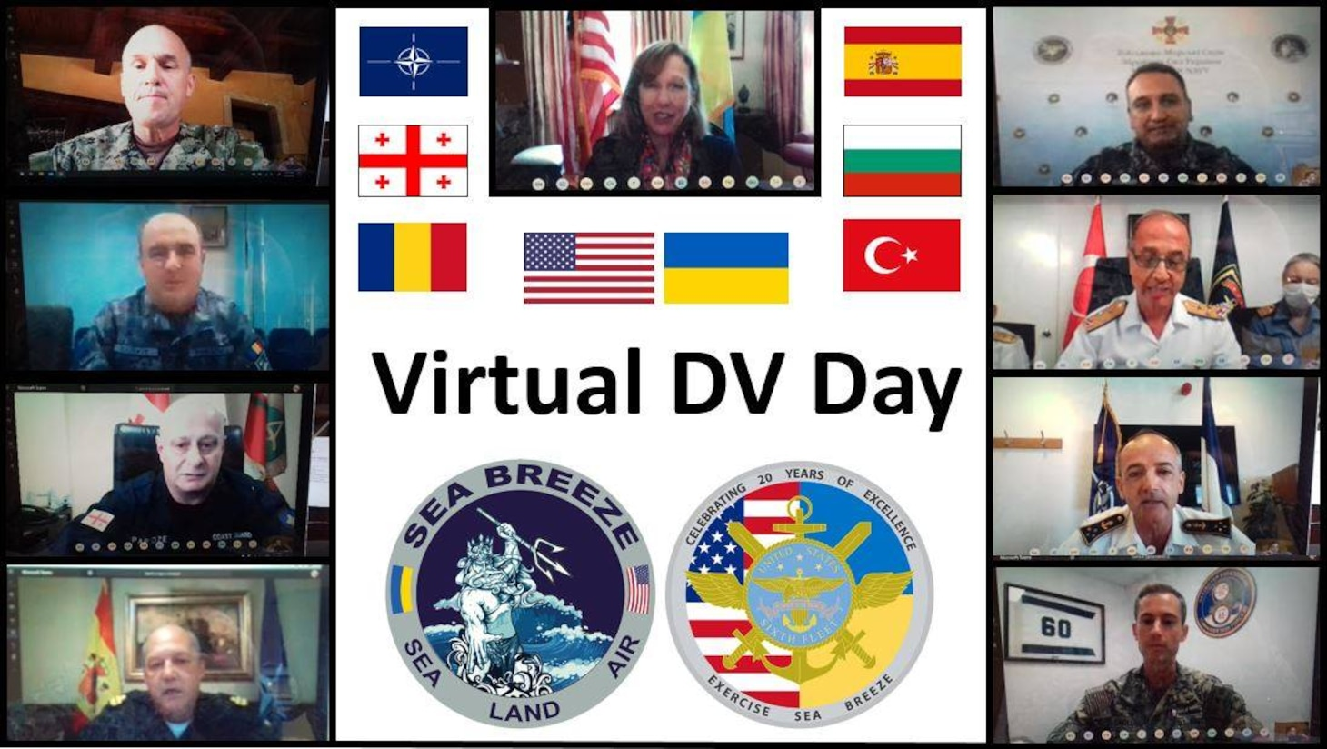 Sea Breeze 2020 Virtual DV Day