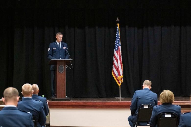 Honorary Commander Ceremony