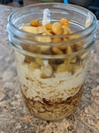 Overnight Oats - Looking for a quick and healthy breakfast? Overnight oats provide a well-balanced meal for extra energy and to feel full until lunchtime. (Justine Duchon, MEDDAC-AK Registered Dietitian