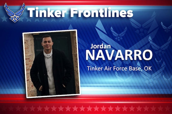 Jordan C. Navarro is a logistics planner in the 72nd Logistics Readiness Squadron.