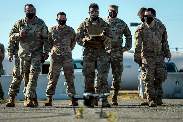 CRW takes Small Unmanned Aircraft System for test flight, demonstrates capabilities