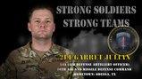 U.S. Army Europe Best Warrior 2020 Competitor: 2nd Lt. Garret Julian