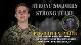 U.S. Army Europe Best Warrior 2020 Competitor: Pfc. Griffen Emrick