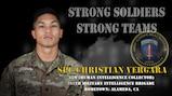 U.S. Army Europe Best Warrior 2020 Competitor: Spc. Christian Vergara