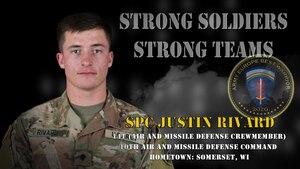 U.S. Army Europe Best Warrior 2020 Competitor: Spc. Justin Rivard