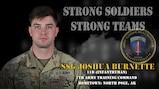 U.S. Army Europe Best Warrior 2020 Competitor: Staff Sgt. Joshua Burnette