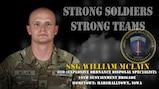 U.S. Army Europe Best Warrior 2020 Competitor: Staff Sgt. William McLain