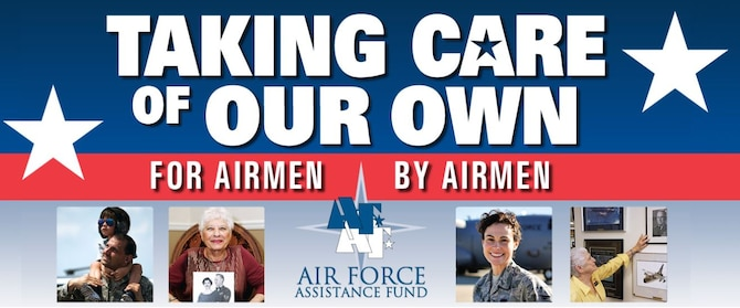 """The 2020 Air Force Assistance Fund Summer Campaign will take place at Hanscom Air Force Base July 27 through Aug. 7. This year's theme is """"For Airmen, by Airmen."""" (courtesy graphic)"""