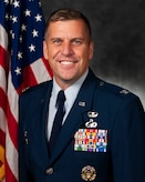 Official photo of Col. Kyle Head, 23d Mission Support Group commander.