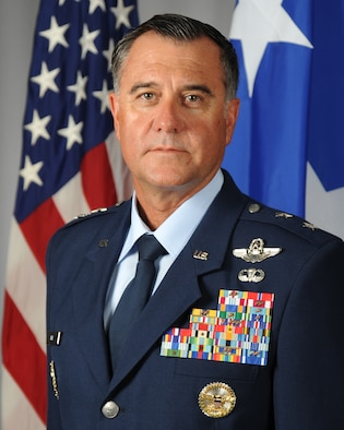 This is the official portrait of Maj. Gen. Eric T. Hill.