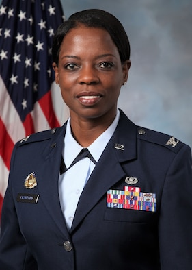 Photo of Colonel Gail Crawford is the Staff Judge Advocate for Headquarters, Air Combat Command