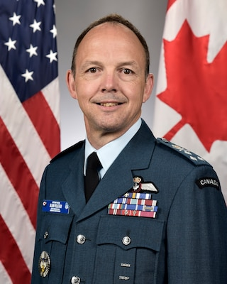 Lieutenant-General Alain Pelletier, North American Aerospace Defense Command deputy director (official bio photo)