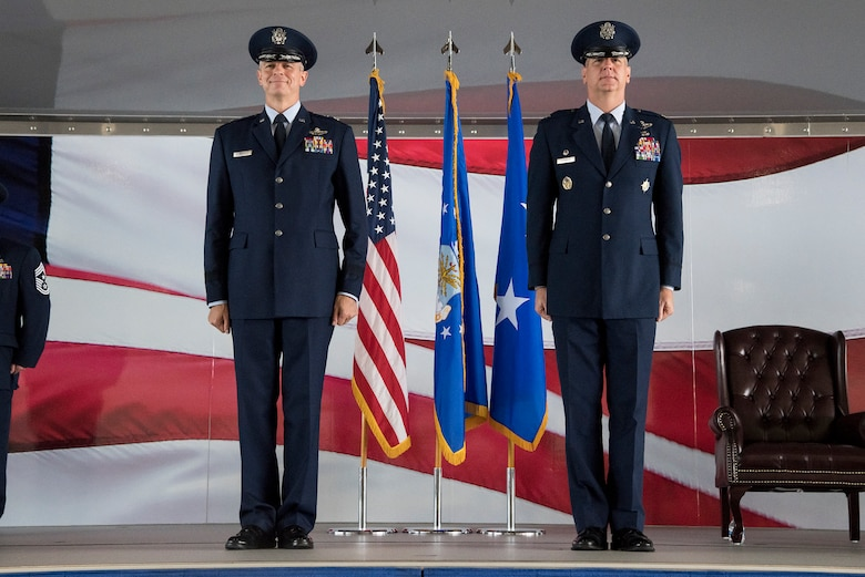 12th FTW change of command