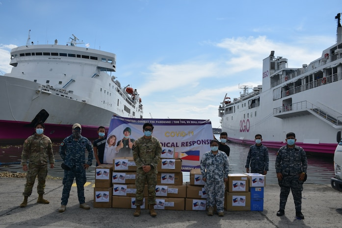 U.S. Military Donates Additional Php11 Million in Medical Supplies to Philippine Frontliners