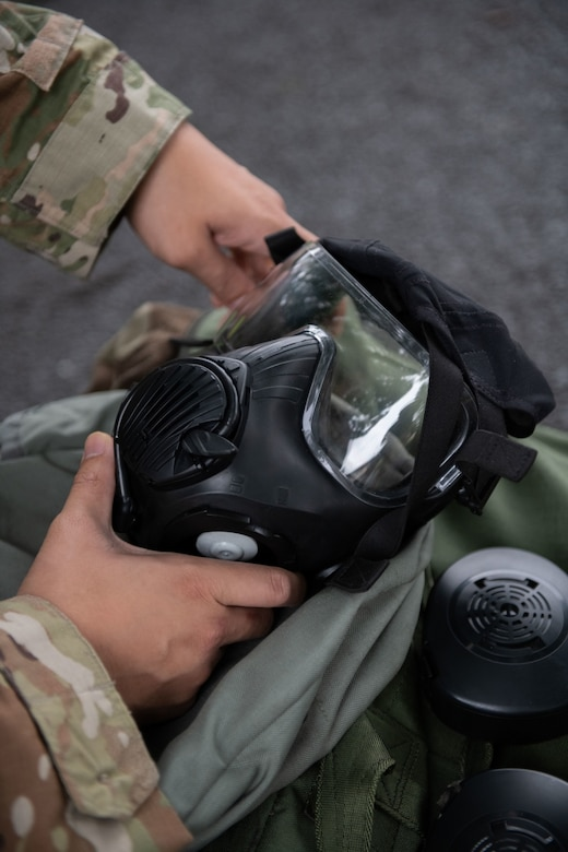Yokota CBRN training adapts to pandemic constraints