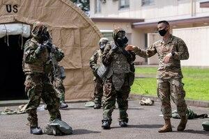 Yokota CBRN training adapts to pandemic constraints