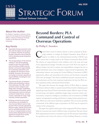 Beyond Borders: PLA Command and Control of Overseas Operations
