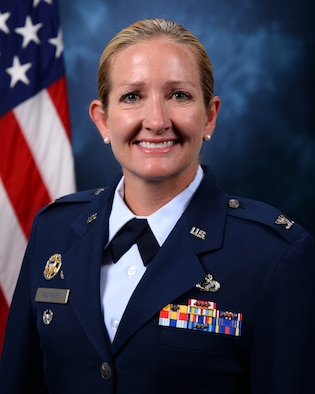 Col. Brooke A. Rinehart is the Vice Commander, 10th Air Base Wing, U.S. Air Force Academy, Colorado Springs, Colorado. (U.S. Air Force photo)