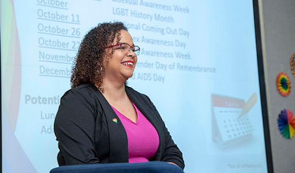 NUWC Division Newport, NAVSEA leaders foster discussions on diversity and inequality