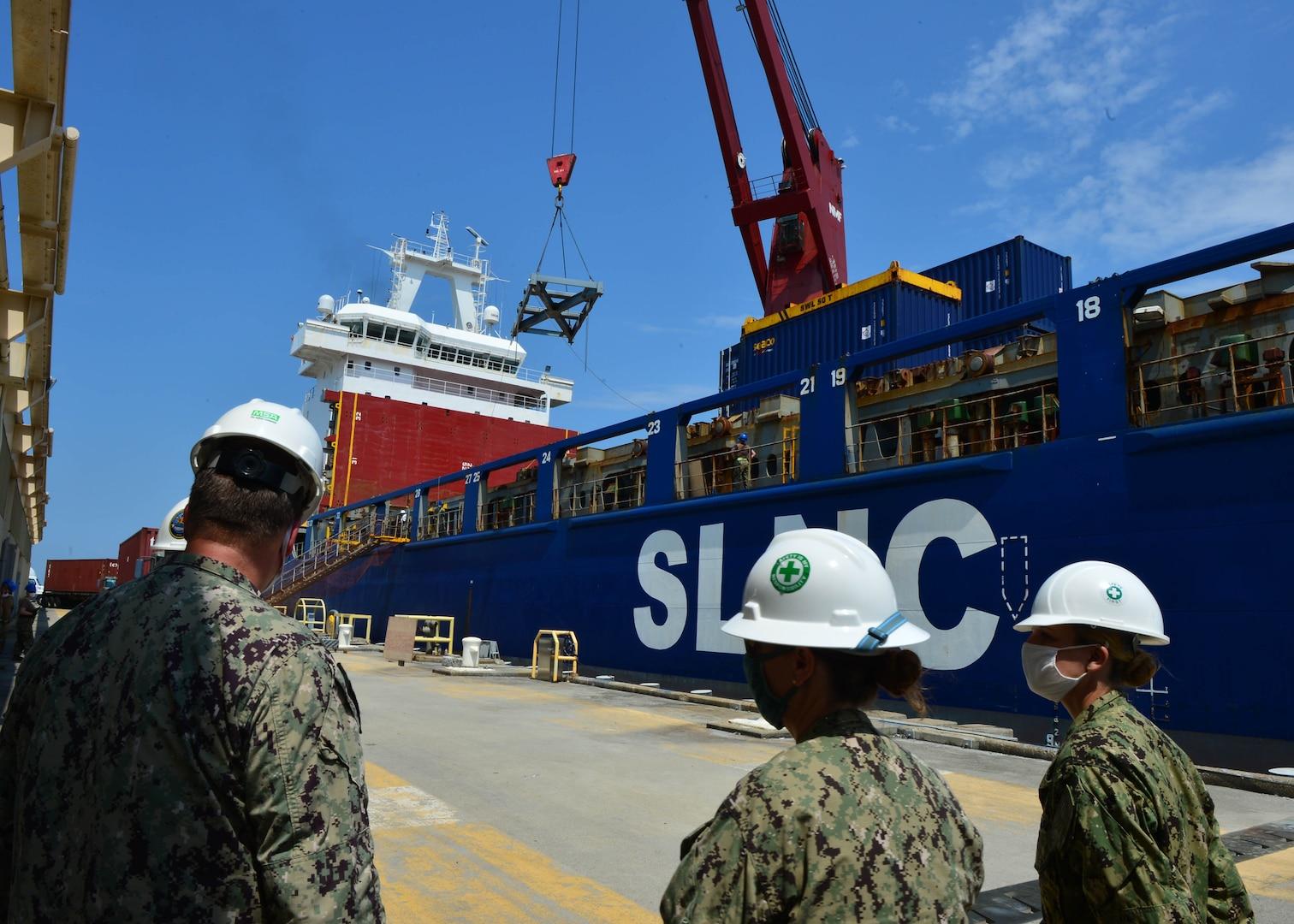 DLA Distribution Norfolk fulfills resupply mission for Operation Pacer Goose